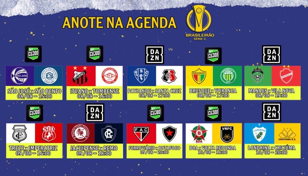 Definida A Escala Da Abertura Da Serie C Na Tv Blog Denis Luciano 4oito